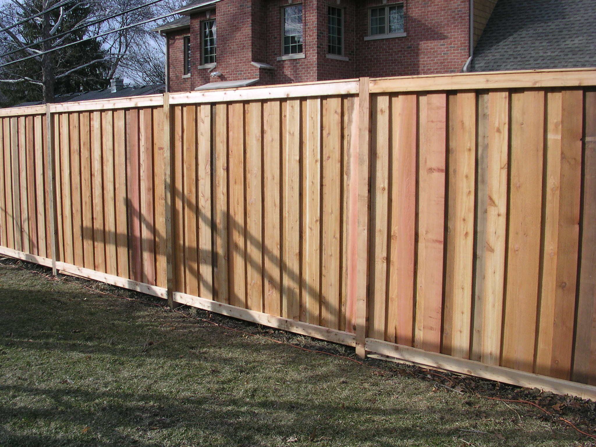texture to your fence this style like other solid fences offers the