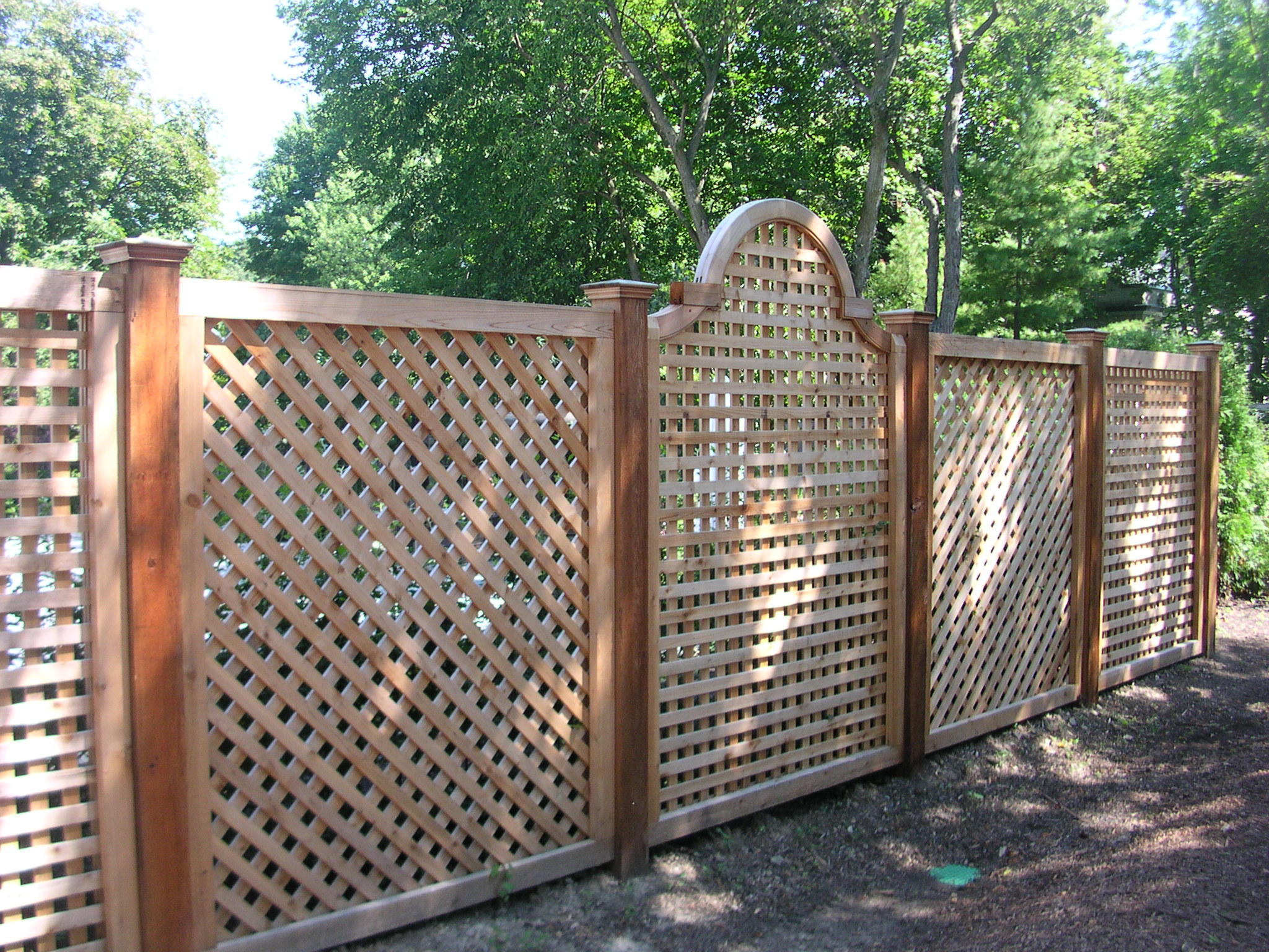 project idea wood lattice ideas
