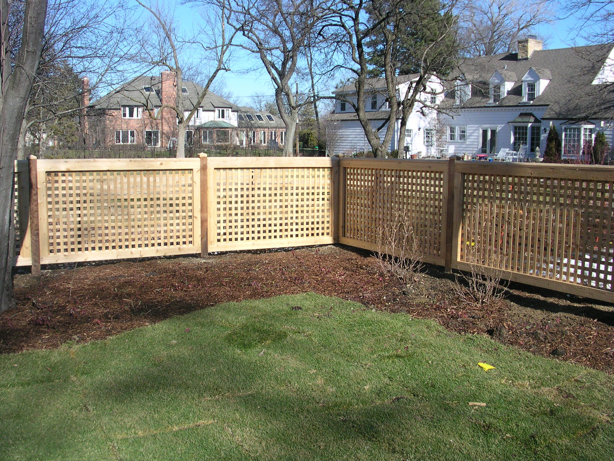 How to install lattice fence how to make fence for Lattice screen fence