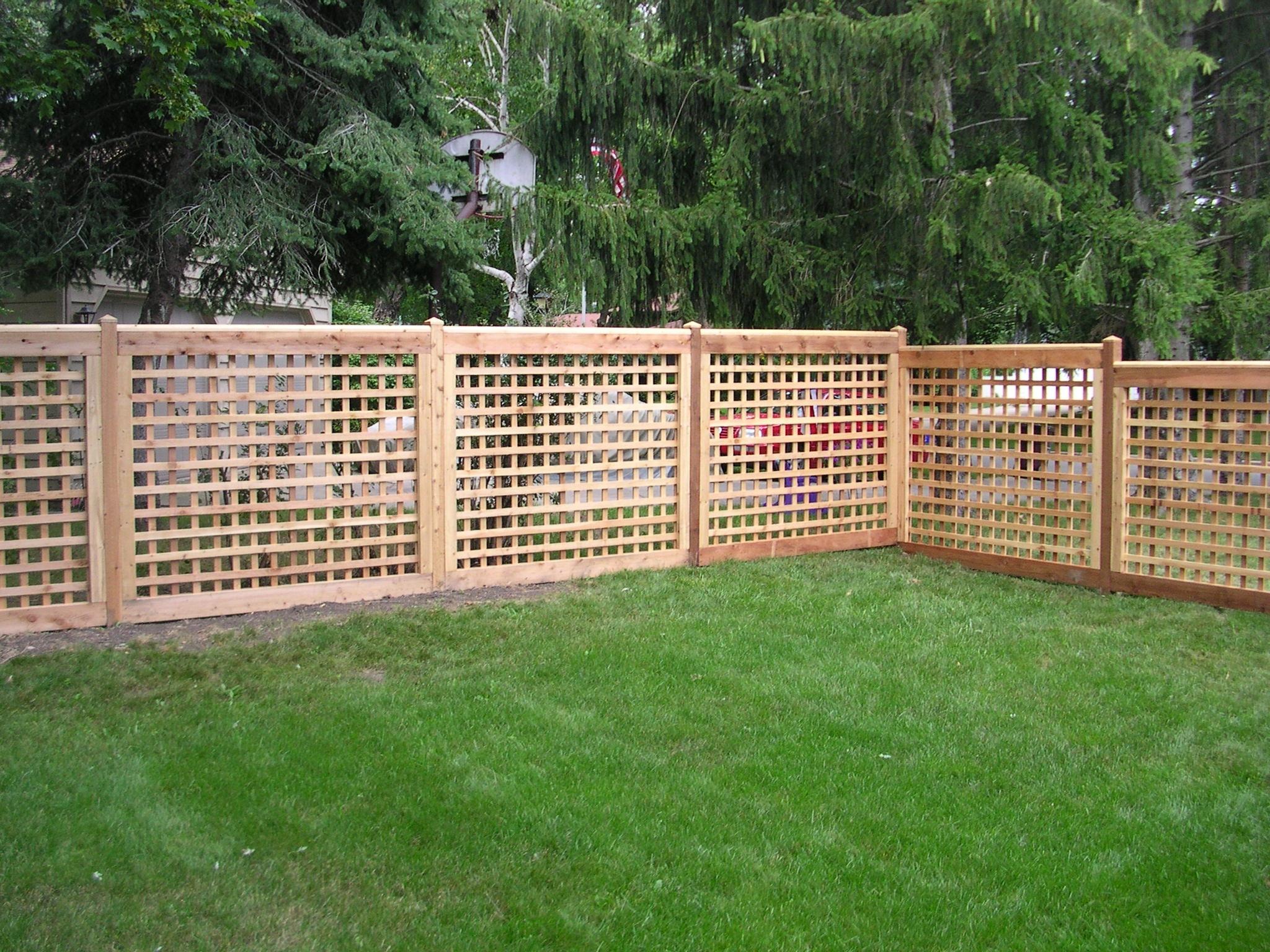 Product for Lattice garden fence designs